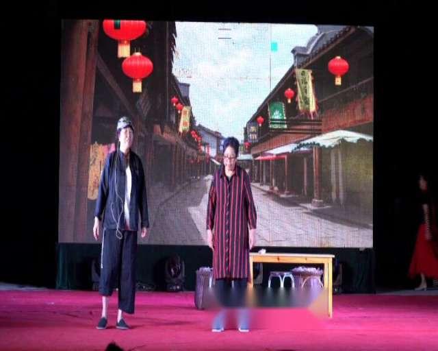 【视频】小品《长人卖饼》岙环街村文化礼堂